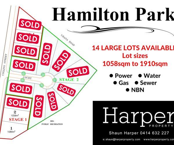 Hamilton Park !!!